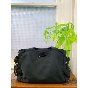 Kate Spade black and green baby bag